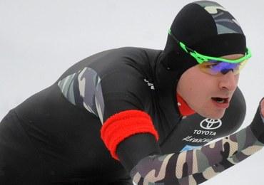 Rekord Polski łyżwiarza szybkiego Jana Szymańskiego na 3000 m