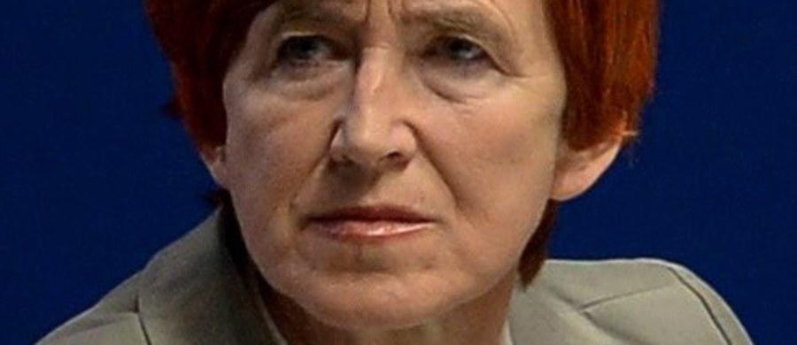 Elżbieta Rafalska będzie ministrem pracy i polityki społecznej w rządzie Beaty Szydło. Podczas poprzednich rządów PiS była sekretarzem stanu w tym resorcie.