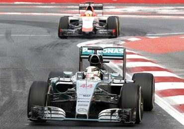 Formuła 1: Wypadek samochodowy Hamiltona