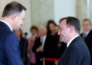 Prezydent ułaskawił byłego szefa CBA Mariusza Kamińskiego