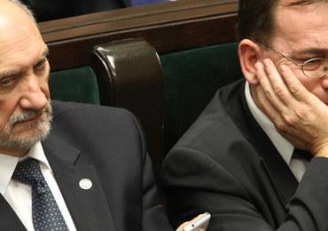 Antoni Macierewicz chce rekomendować nowych szefów SKW i SWW