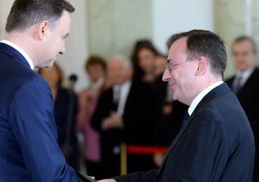 Andrzej Duda o ułaskawieniu Kamińskiego: Postanowiłem uwolnić wymiar sprawiedliwości od tej sprawy