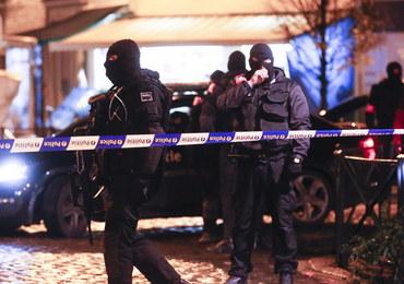 """Policyjna akcja w centrum Brukseli. """"Zostańcie w domach"""""""
