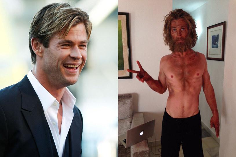 """Chris Hemsworth pochwalił sie na Twitterze, ile kosztowała go rola w filmie """"W samym sercu morza"""". Obraz w reżyserii Rona Howarda trafi na polskie ekrany 4 grudnia."""