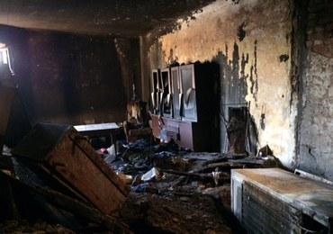 Tragiczny pożar w Łodzi: Nie żyje jedna osoba