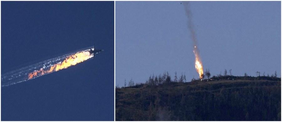 Nie było żadnych ostrzeżeń ze strony tureckich sił powietrznych i nie wlecieliśmy w turecką przestrzeń powietrzną - twierdzi nawigator rosyjskiego bombowca Su-24, zestrzelonego we wtorek przez tureckie myśliwce F-16. Pilot maszyny nie przeżył.