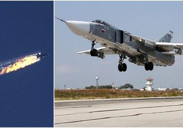 """Turecki F-16 ostrzega Su-24: """"Zmień kierunek"""". Armia udostępniła nagranie [POSŁUCHAJ]"""