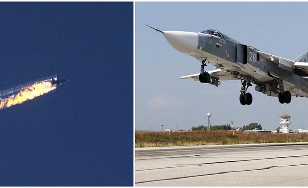 """Turecka armia udostępniła nagranie z - jak przekazano - ostrzeżeniami dla rosyjskiego bombowca Su-24, zestrzelonego we wtorek przez tureckie myśliwce F-16. Na nagraniu słychać głos mówiący: """"Zmień kierunek"""". Strona rosyjska utrzymuje, że nie było żadnych ostrzeżeń."""