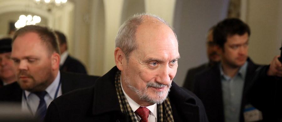W przyszłym tygodniu powinny się skończyć prace nad utworzeniem komisji badania wypadków lotniczych w sprawie katastrofy smoleńskiej - poinformował szef MON Antoni Macierewicz.