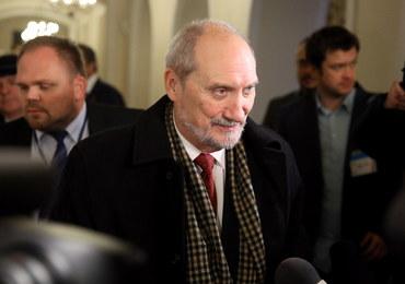 Macierewicz: Komisja smoleńska - w przyszłym tygodniu