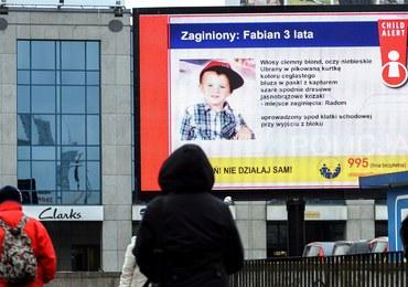 Porwanie Fabiana. Są zarzuty dla ojca dziecka i zaoczny areszt dla mężczyzny