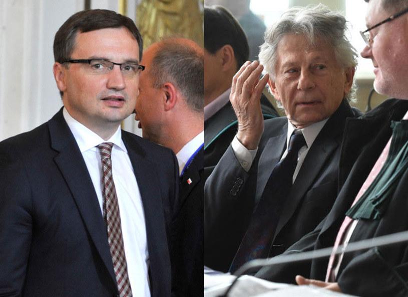 """Jako """"zaskakującą"""" określił minister sprawiedliwości Zbigniew Ziobro decyzję krakowskiej prokuratury o niezłożeniu zażalenia na decyzję sądu o niedopuszczalności ekstradycji Romana Polańskiego - co oznacza, że nie będzie on wydany USA."""
