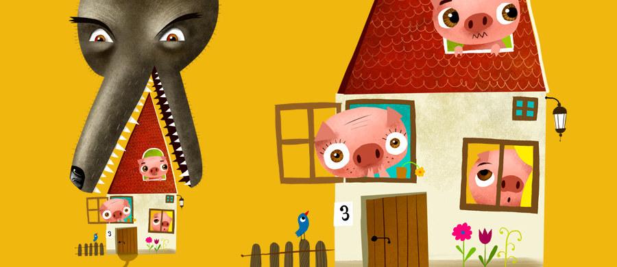 """6 grudnia, w dniu premiery audiobooka - mikołajkowego prezentu dla najmłodszych od RMF FM - w teatrze Groteska w Krakowie w samo południe odbędzie się wyjątkowe przedstawienie: """"Trzy świnki"""" na motywach baśni braci Grimm. Aktorzy zagrają specjalnie dla słuchaczy RMF FM! Relację z tego wydarzenia będziecie mogli śledzić na żywo w internecie. Na naszej stronie!"""