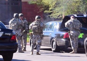 Strzelanina w San Bernardino. Kilkanaście ofiar, sprawcy uciekli [FILMY]