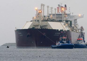 Metanowiec z katarskim LNG jest już w Świnoujściu