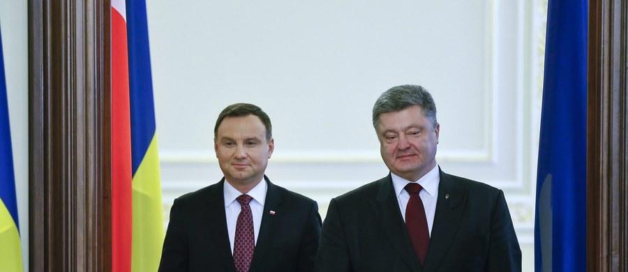"""""""Bardzo bym chciał, aby Ukraina była obecna na szczycie NATO w lipcu w Warszawie i będę zabiegał, aby miejsce dla Ukrainy było przy tym stole"""" - powiedział w Kijowie prezydent Andrzej Duda."""