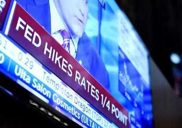 Bank centralny USA podniósł stopy procentowe
