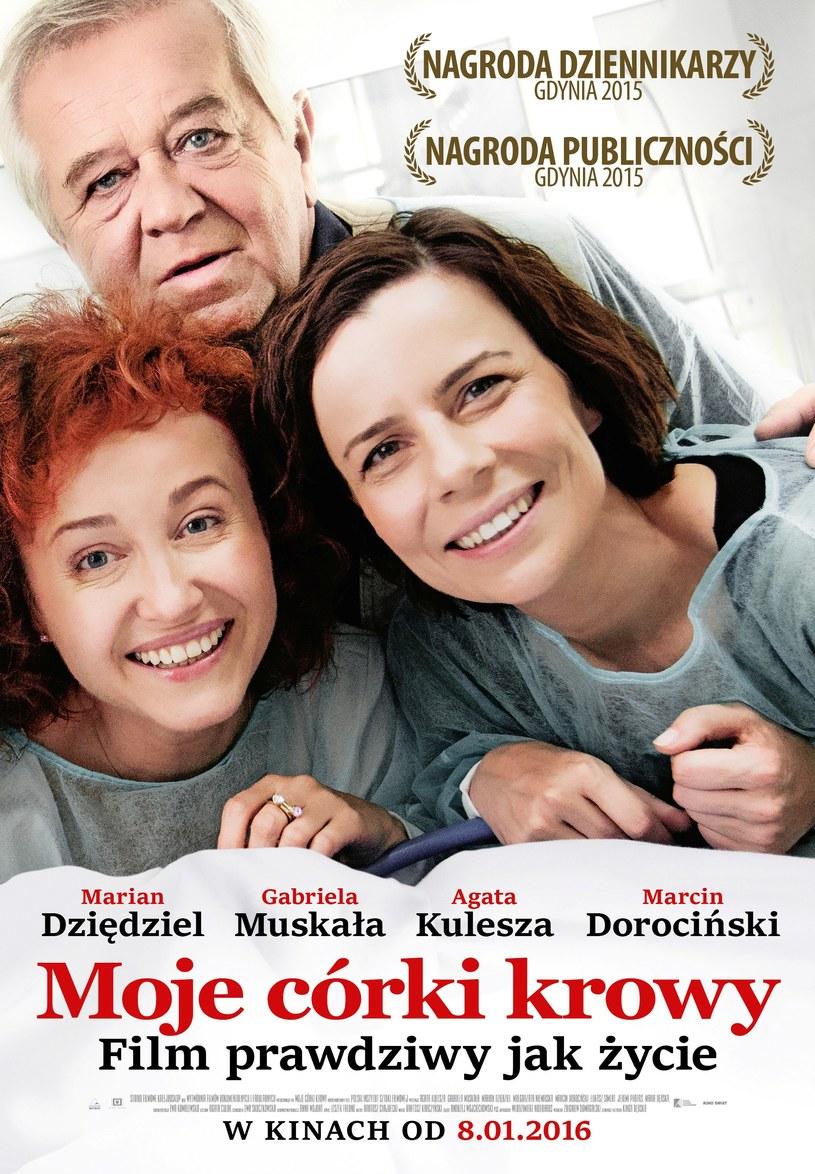 """""""Moje córki krowy"""" zachwyciły Amerykę. Polska produkcja została zaliczona przez """"The Village Voice"""" do najlepszych produkcji 2015. """"Już nie mogę doczekać się, gdy oddamy nasz film ludziom"""" - mówi gwiazda produkcji, Agata Kulesza."""
