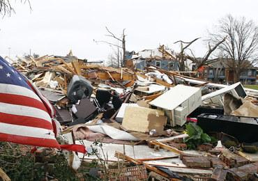 Coraz większy bilans ofiar tornad w USA
