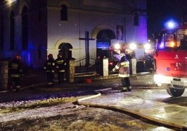 """Pożar kościoła w Braniewie. """"Wnętrze wygląda tragicznie"""""""