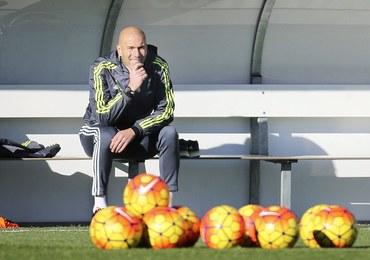 Zidane na pierwszym treningu z piłkarzami Realu
