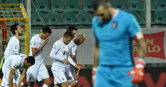 Piłkarze Fiorentiny pokonali na wyjeździe Palermo 3:1 w meczu 18. kolejki Serie A. Ostatnią bramkę dla zwycięzców w doliczonym przez sędziego czasie gry zdobył Jakub Błaszczykowski. Wracający po kontuzji polski pomocnik na boisku pojawił się w 60. minucie.