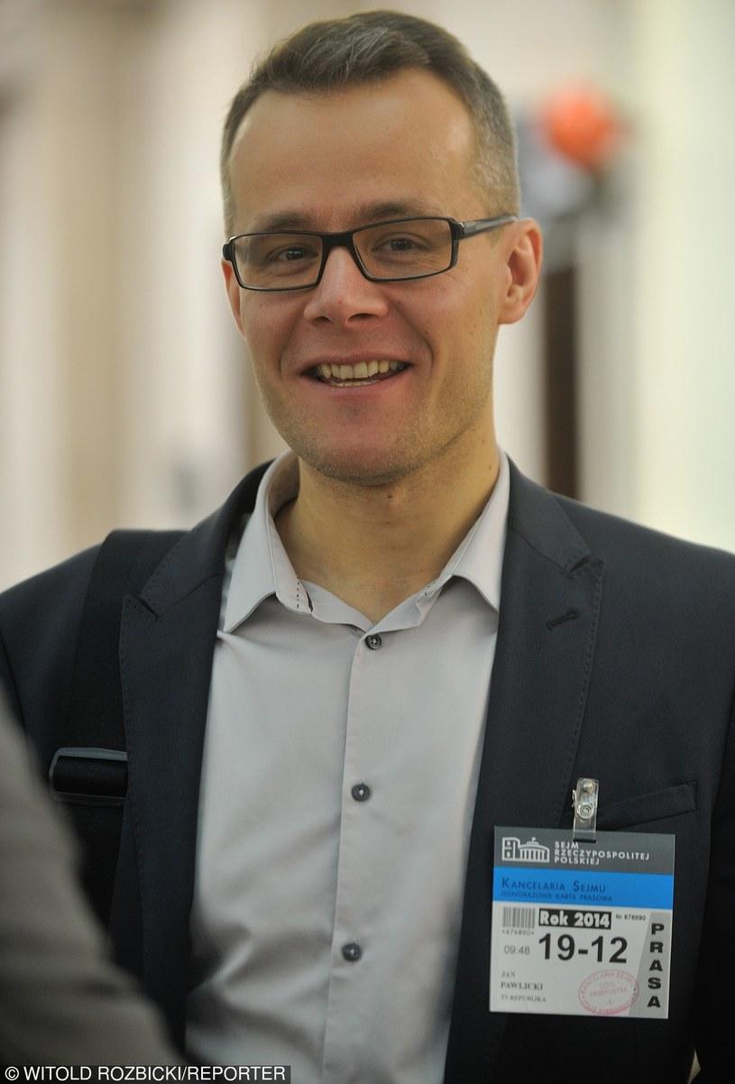 Według nieoficjalnych informacji były dziennikarz TV Republika, TVP Info i TVN - Jan Pawlicki - będzie nowym dyrektorem TVP1.
