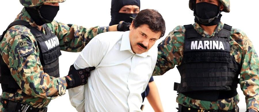 """Jeden z najpotężniejszych meksykańskich baronów narkotykowych Joaquin """"El Chapo"""" Guzman został schwytany pół roku po spektakularnej ucieczce z pilnie strzeżonego więzienia - poinformował prezydent Meksyku Enrique Pena Nieto."""