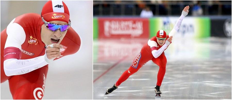 Jan Szymański zajmuje dziewiąte, a Zbigniew Bródka 11. miejsce po dwóch konkurencjach mistrzostw Europy w łyżwiarskim wieloboju w Mińsku. Wśród pań natomiast dziesiątą pozycję ma Luiza Złotkowska, a oczko niżej plasuje się Natalia Czerwonka.