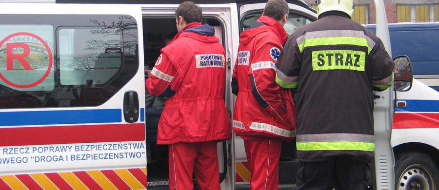 Do szpitala w Chorzowie w województwie śląskim przewieziono 4-osobową rodzinę, w tym dwoje dzieci: roczne i dwuletnie. Na szczęście ich stan jest dobry.
