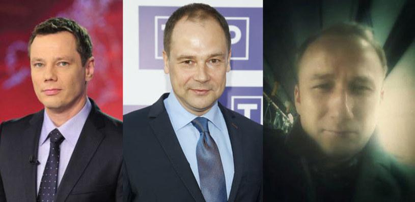 Prezenterzy Piotr Maślak i Jarosław Kulczycki oraz reporter Adam Feder to pierwsze ofiary zmian kadrowych w TVP Info.