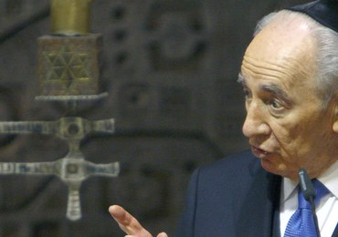 Szimon Peres miał atak serca. Były prezydent Izraela jest w szpitalu