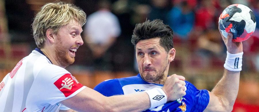 Islandia pokonała w katowickim Spodku Norwegię 26:25 (10:11) w drugim meczu grupy B mistrzostw Europy piłkarzy ręcznych. We wcześniejszym piątkowym spotkaniu tej grupy Chorwacja wygrała z Białorusią 27:21 (15:15).