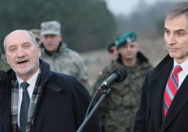 Macierewicz: Naszym celem jest trwałe stacjonowanie na terenie Polski sił NATO i USA