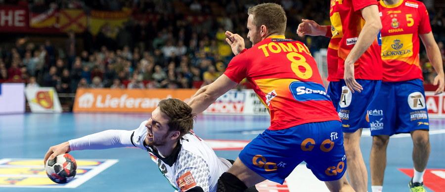 Hiszpania pokonała we wrocławskiej Hali Stulecia Niemcy 32:29 (18:15) w pierwszym meczu grupy C mistrzostw Europy piłkarzy ręcznych.