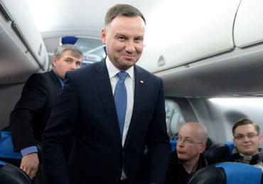 """Andrzej Duda rozpoczął wizytę w Brukseli. """"Będzie przekonywał, że UE nie stać na sztuczny konflikt"""""""