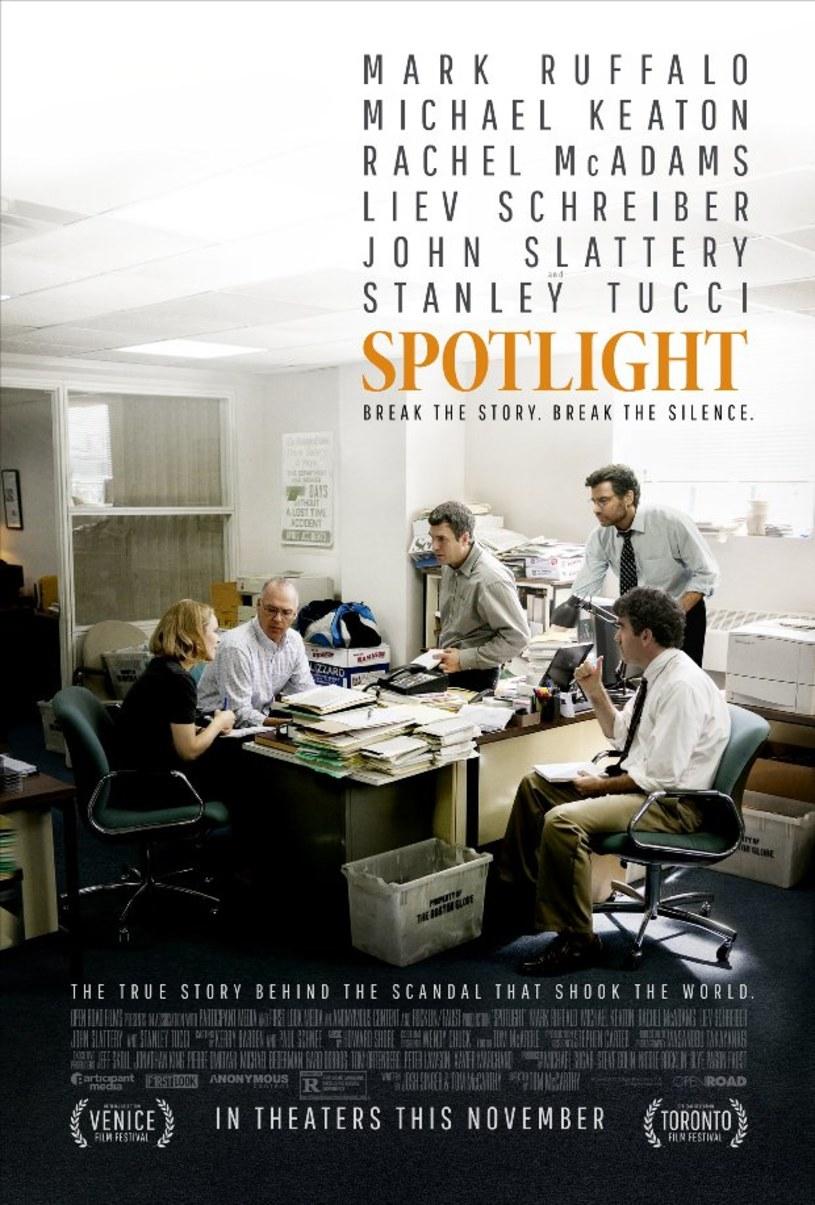 """Zdaniem amerykańskich bukmacherów, """"Spotlight"""" zwycięży w wyścigu o Oscara w kategorii najlepszy film."""