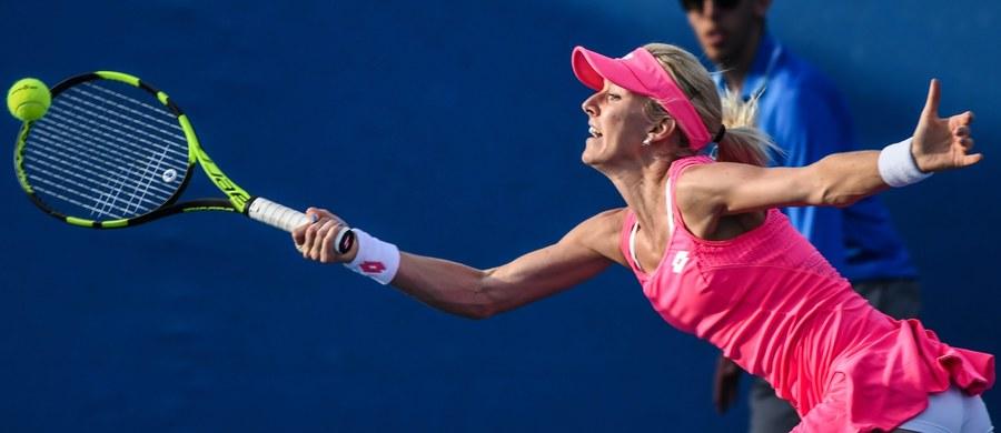 Urszula Radwańska odpadła już w pierwszej rundzie pierwszego wielkoszlemowego turnieju w tym roku. Krakowianka przegrała z Chorwatką Anie Konjuh 6:0, 4:6, 3:6, choć była już bardzo blisko zwycięstwa.