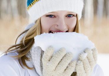 Nie jedz śniegu! To może Cię zabić