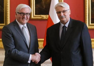 """Spotkanie szefów MSZ Polski i Niemiec. """"Wzajemne zaufanie niepojętym szczęściem"""""""