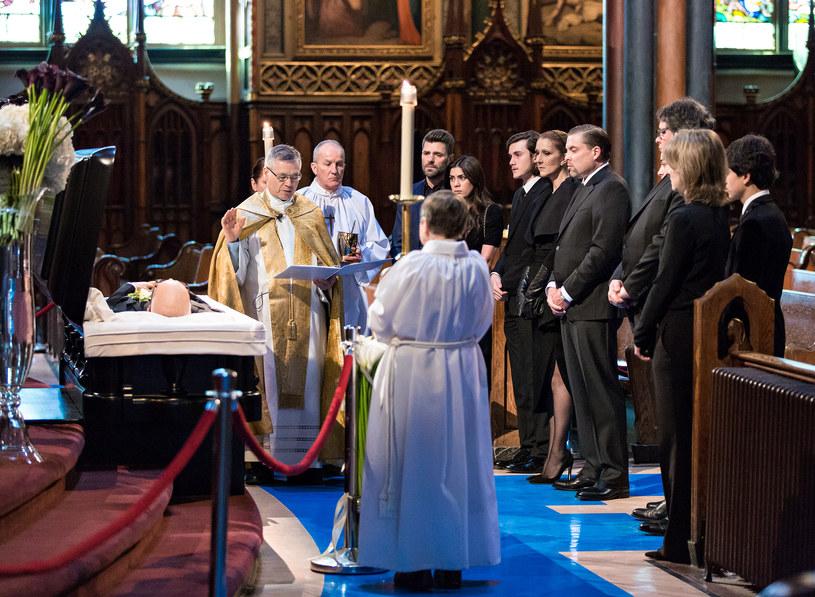 Setki osób oddało hołd Rene Angelilowi, zmarłemu 14 stycznia mężowi Celine Dion.
