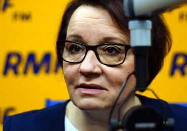 Anna Zalewska: Dzieci były przymuszane do zbierania podpisów w obronie gimnazjów