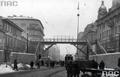 26 stycznia 1942 r. Zbudowano kładkę w warszawskim getcie
