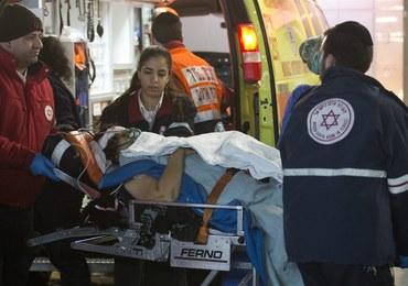 Atak nożowników w sklepie spożywczym Jerozolimie. Jedna z ofiar zmarła