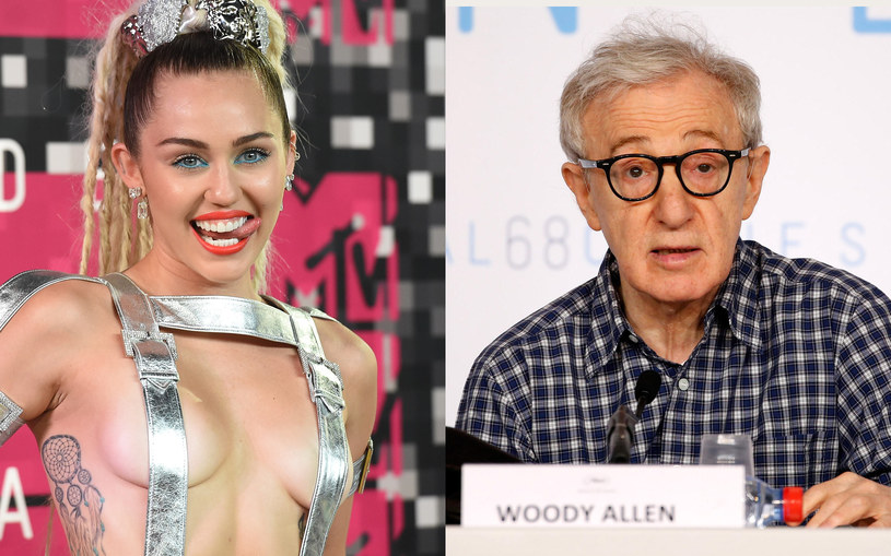 Miley Cyrus zagra jedną z głównych ról w serialu Woody'ego Allena. Pierwszą telewizyjną produkcję w karierze 80-letniego reżysera będzie można zobaczyć w serwisie Amazon Prime.