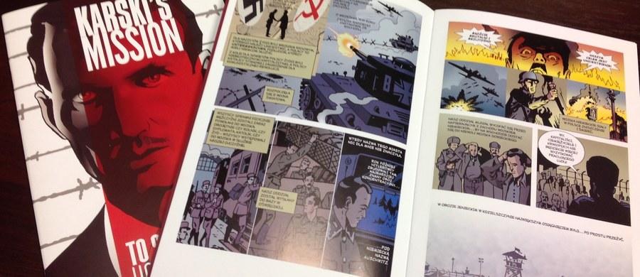 """""""Jan Karski jest upamiętniany na różne sposoby. Wczoraj został upamiętniony w Krakowie pomnikiem ławeczką, powstają filmy, książki, odbywają się konferencje. Pierwszy komiks, który powstał o Karskim, powstał we Włoszech. Nasz obecny komiks, który powstał we współpracy z Muzeum Historii Polski jest robiony przez wybitnych rysowników amerykańskich. Mamy im powiedzieć nie?"""" - mówi gość """"Dania do Myślenia"""" w RMF Classic, prezes Fundacji Edukacyjnej Jana Karskiego Ewa Junczyk-Ziomecka. """"Nie jestem z tego pokolenia, które chciałoby poznawać historię w ten sposób, ale robimy to dla następnego pokolenia, bo chcemy do nich dotrzeć w ten sposób""""- dodaje. Gość RMF Classic zaznacza, że jest to komiks wyjątkowy, bo w """"dymkach"""" cytowane są słowa Karskiego. Dlaczego ławeczka dla upamiętnienia? """"Dziś w świecie robi się pomniki takie, gdzie człowiek może do niego wejść, a ławeczka zaprasza, żeby usiąść obok Karskiego""""-  odpowiada Junczyk-Ziomecka."""