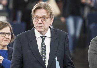 Porażka Verhofstadta. PO nie powiedziała jednak ostatniego słowa