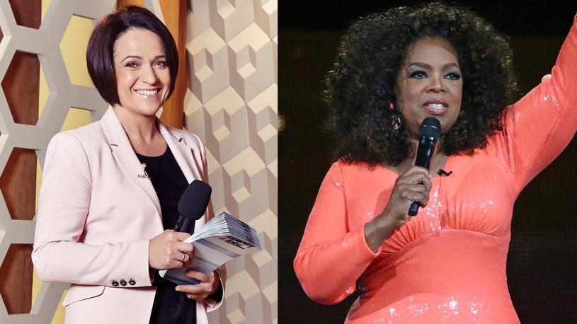 """Ewa Drzyzga, gospodyni programu """"Rozmowy w toku"""", uznawana jest za polską Oprah Winfrey. - To ogromna odpowiedzialność - mówi Drzyzga. W piątek prowadząca """"The Oprah Winfrey Show"""" skończy 62 lata."""