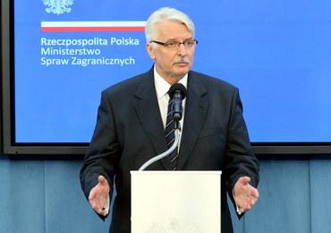 Rosyjskie MSZ komentuje wystąpienie Waszczykowskiego: Można żyć fobiami, wybór należy do Polski