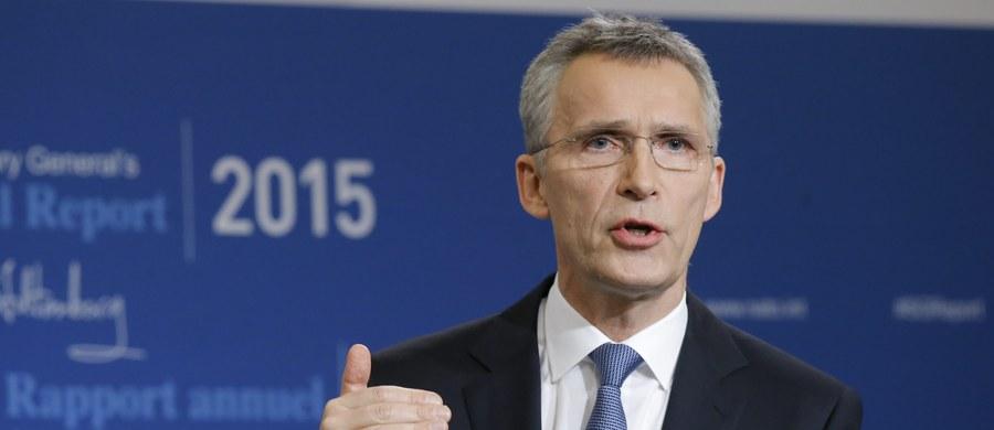 """Sekretarz generalny NATO Jens Stoltenberg wezwał Rosję do """"podjęcia wszelkich niezbędnych kroków"""", aby zapewnić, że przestrzeń powietrzna NATO nie będzie znowu naruszana. O przypadku takiego naruszenia poinformowała wcześniej Ankara."""